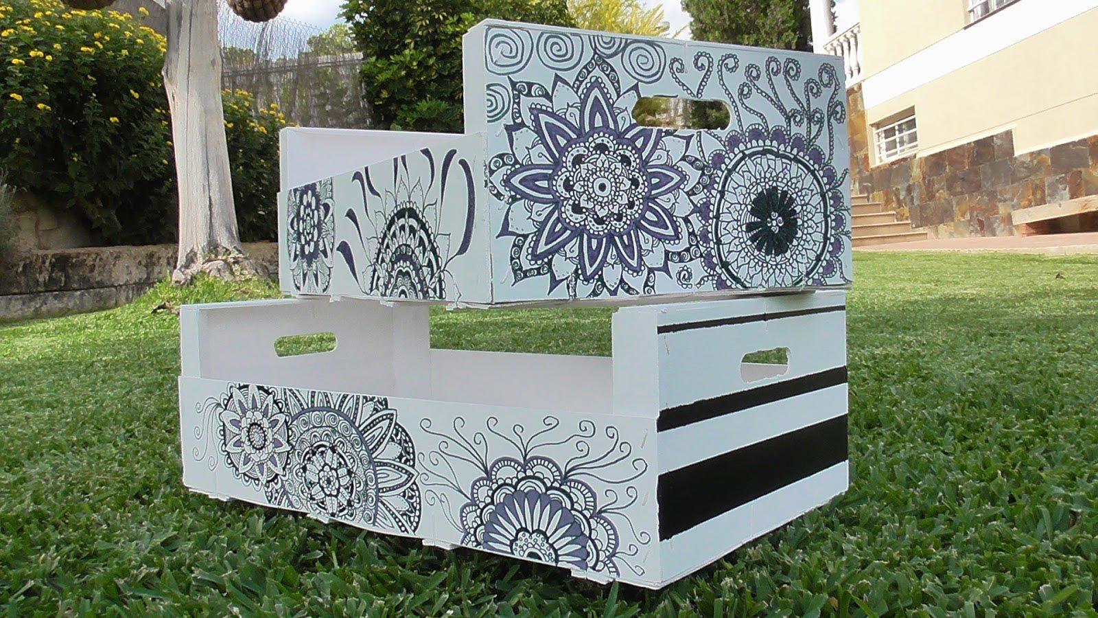 Idées DIY pour recycler les caisses en bois