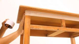 Meubles en bois vieilli avec effet peinture craie - Étape 2