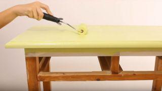 Meubles en bois vieilli effet peinture craie - Étape 3