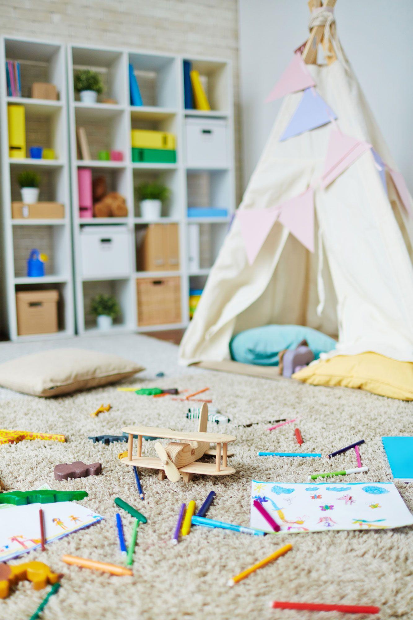 Tipis indiens pour décorer les chambres d'enfants