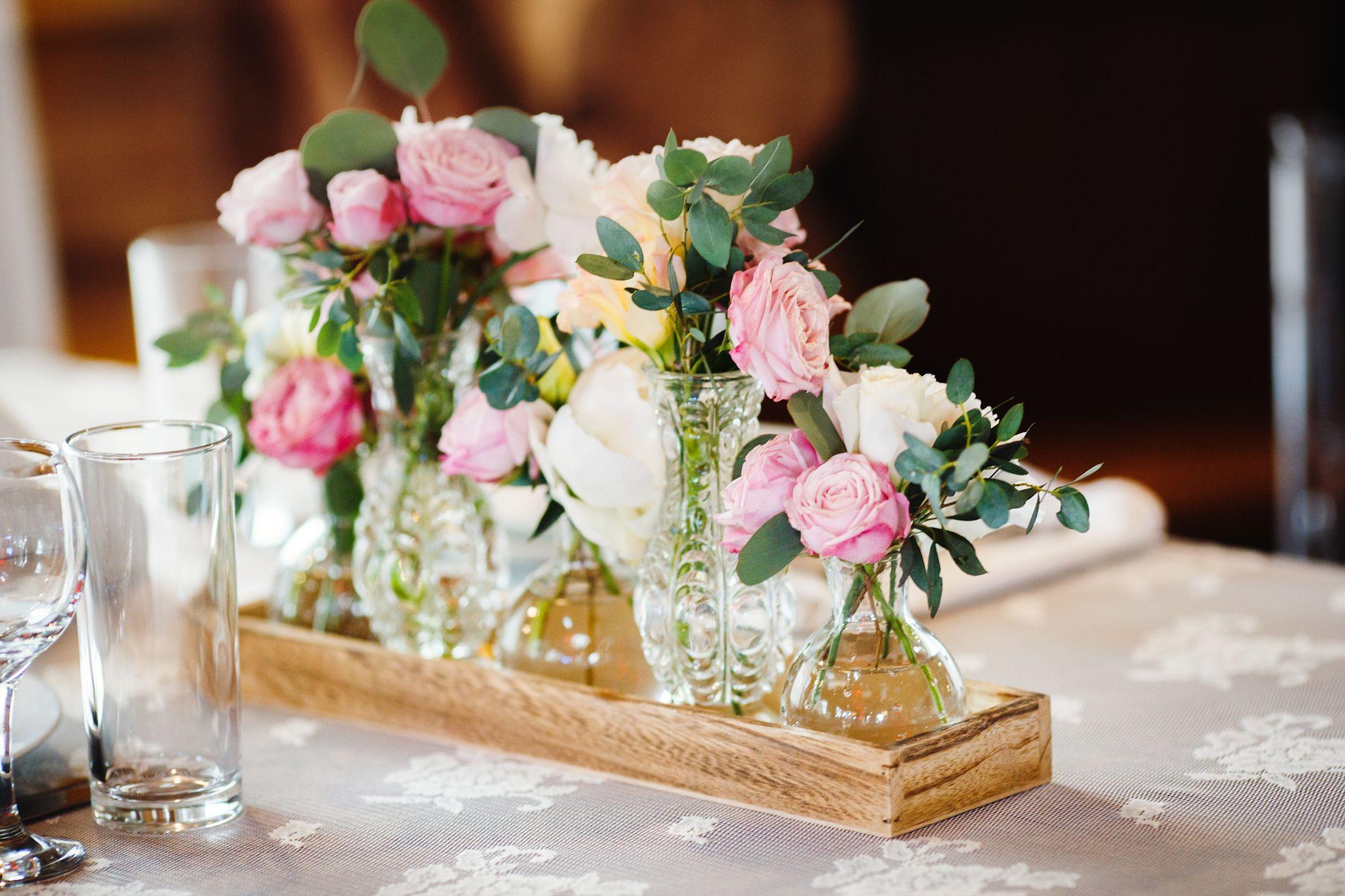 Fleurs dans des verres