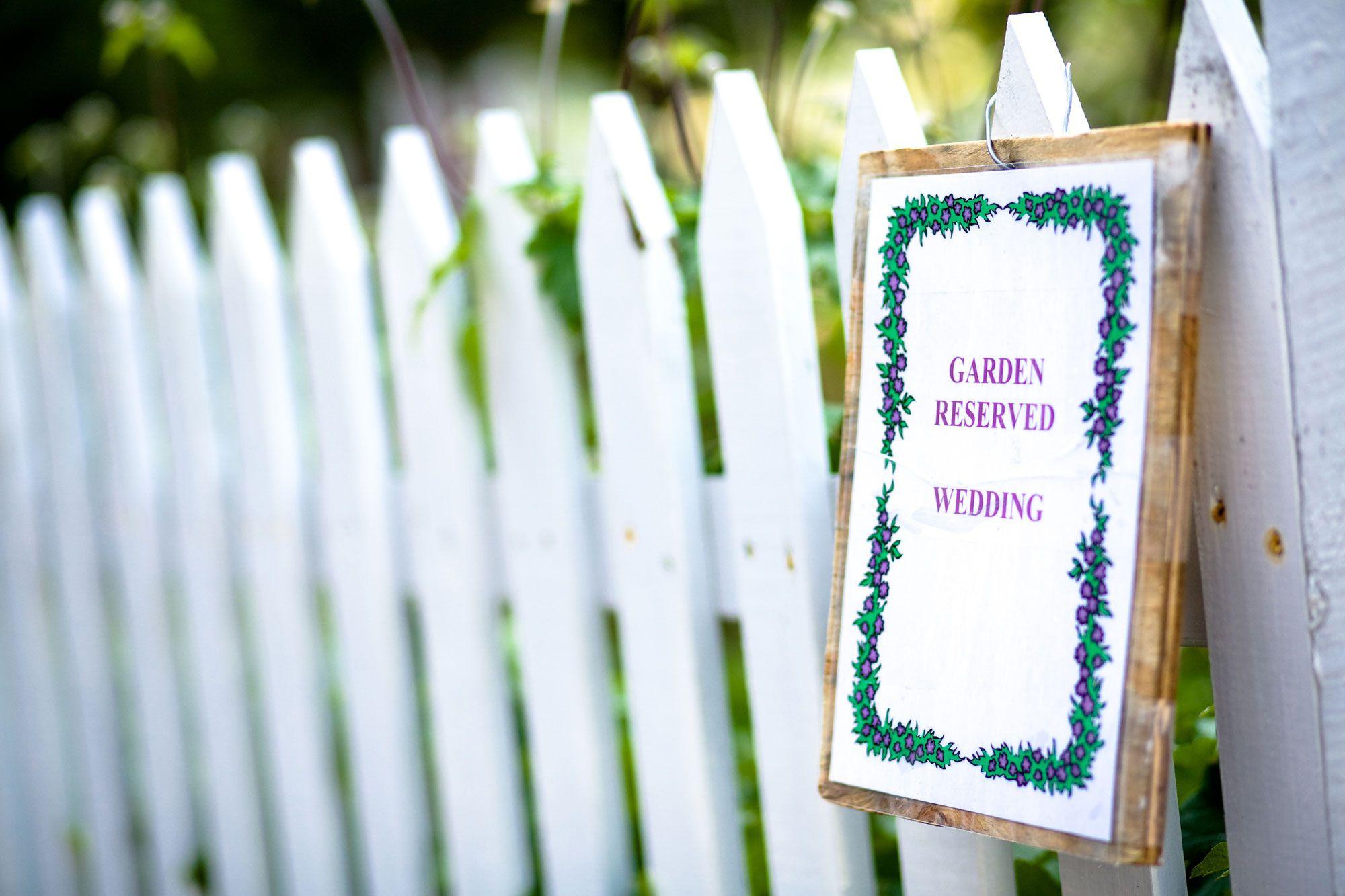 Panneaux de bienvenue pour décorer un mariage
