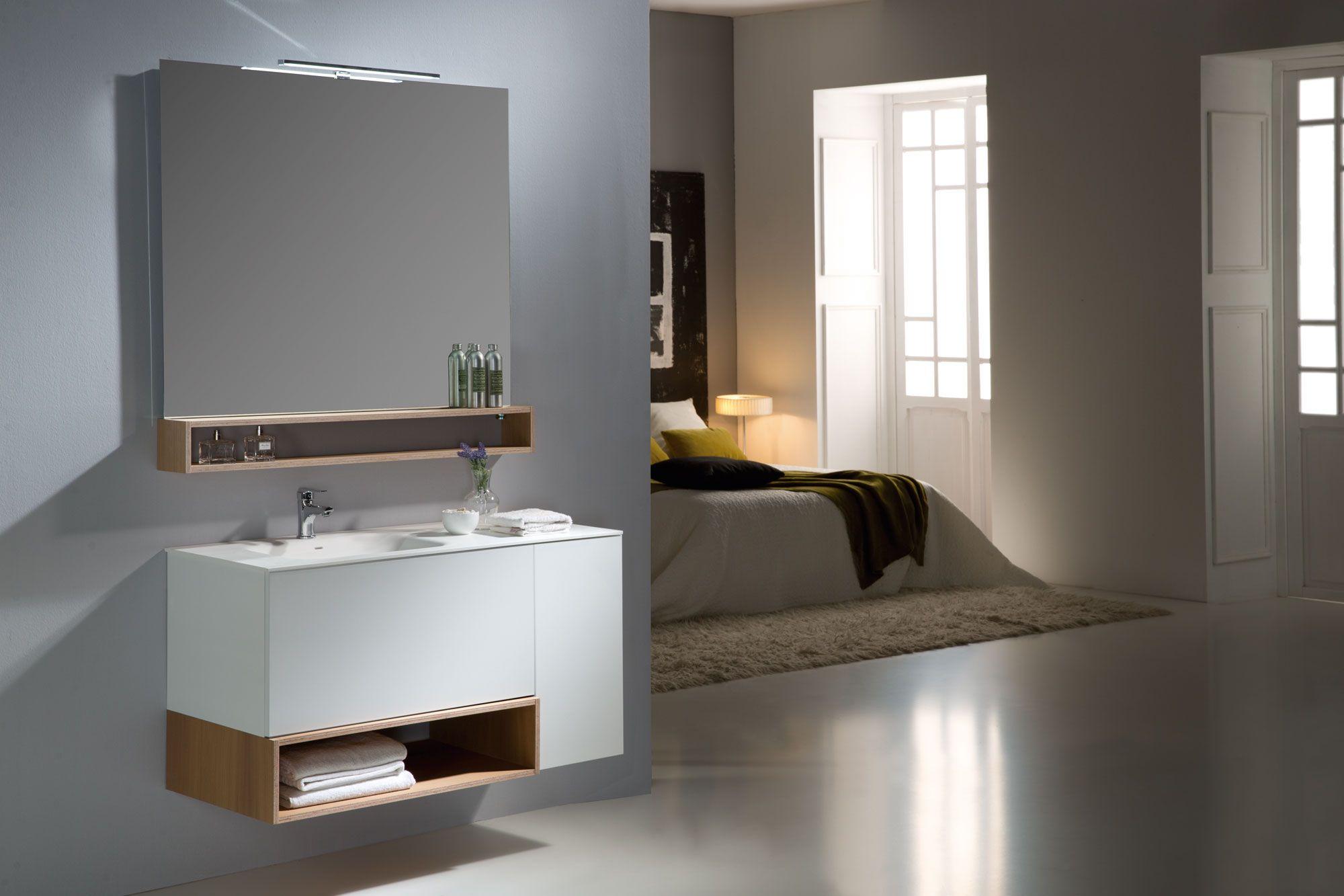 Avantages des meubles de salle de bain suspendus