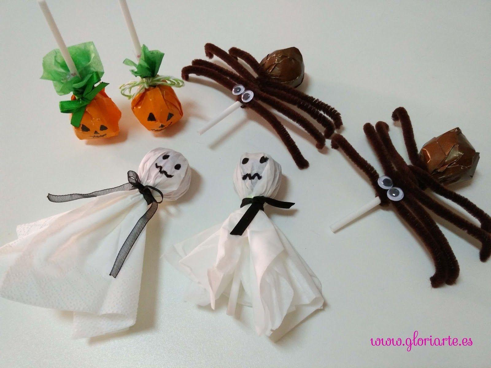 Idées pour décorer des bonbons à l'Halloween