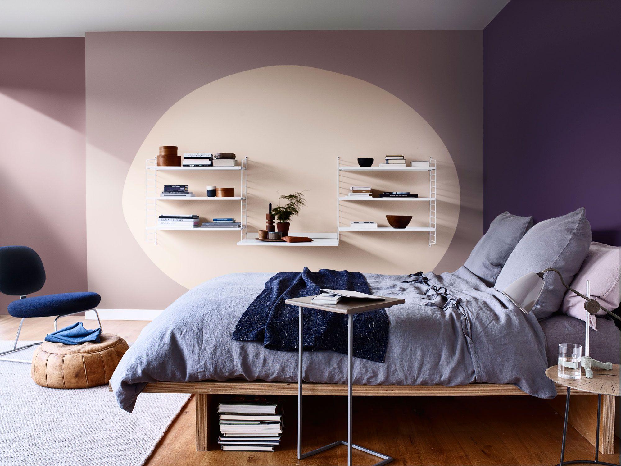 Comment peindre des formes ovales sur le mur