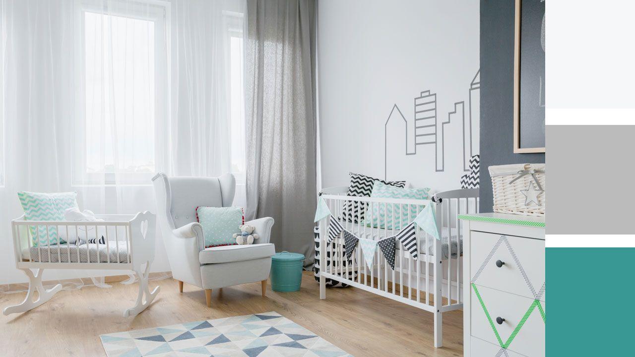 Exemples d'inspiration pour combiner les couleurs dans la chambre