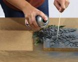 Comment faire des images avec des feuilles et de la peinture