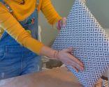 chaise d'ameublement de peinture