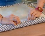 chaise peinture et rembourrage - étape 5