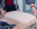 Créer une table de chevet avec un bol en métal - étape 9