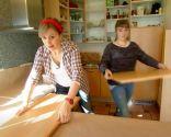 Comment peindre les portes d'armoires de cuisine en blanc - Étape 1