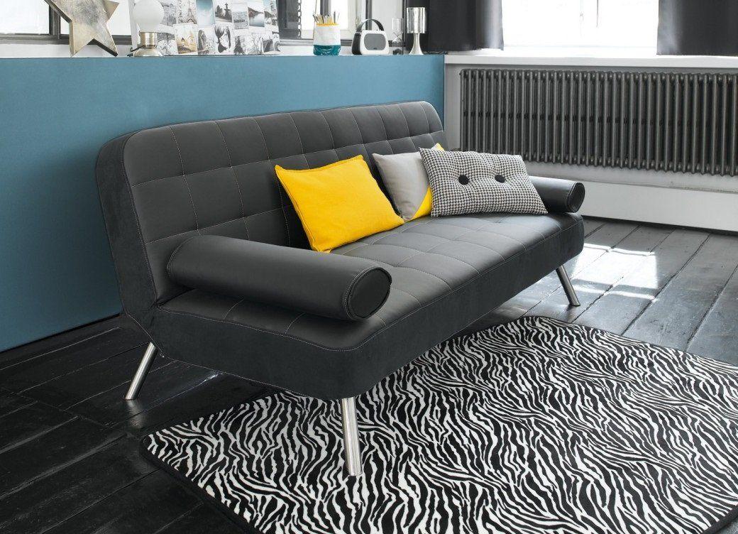 Canapé-lit en simili cuir - modèle JOY de Conforama