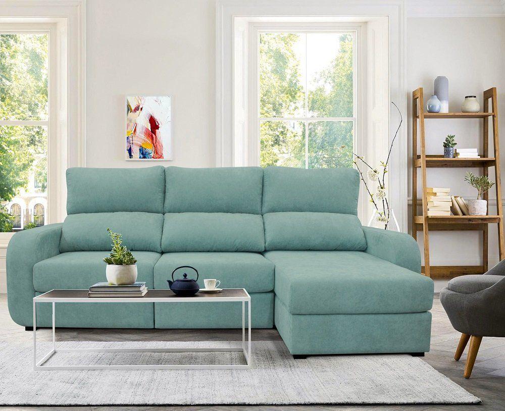 Canapé-lit en cuir synthétique - Modèle APRIL by Conforama