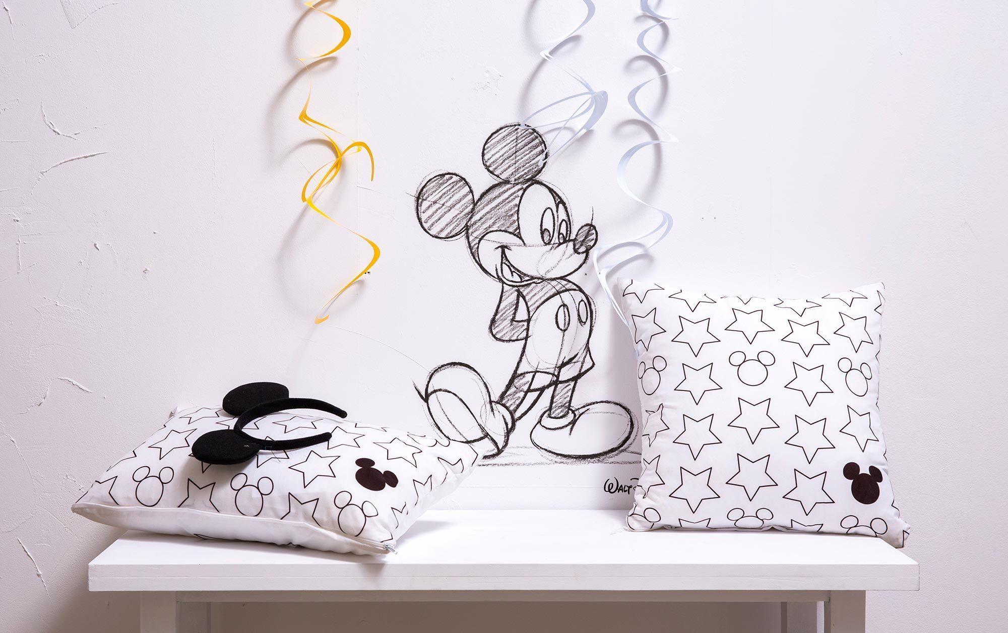 Décoration Mickey Mouse série limitée Leroy Merlin