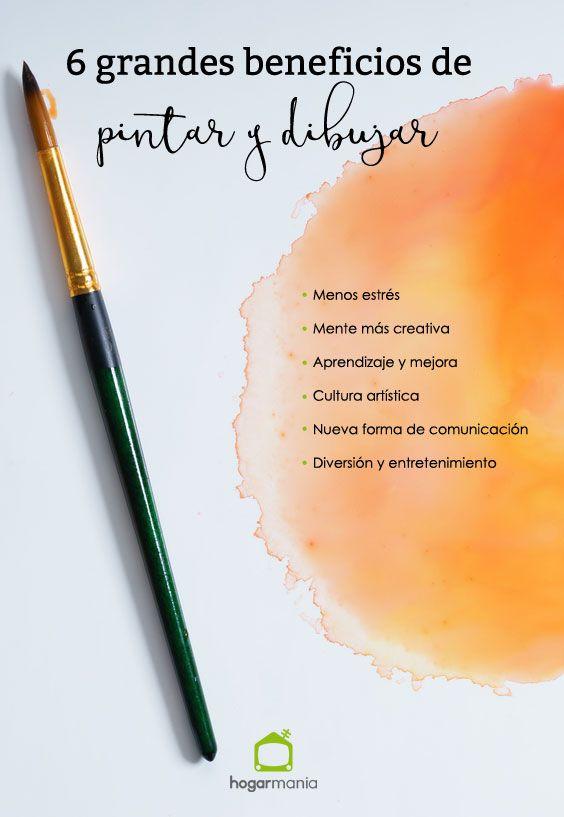 6 avantages majeurs de la peinture et du dessin.