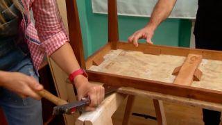 Faire un plateau de table en bois - étape 2