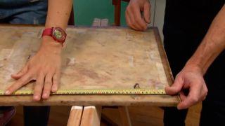 Faire un plateau de table en bois - étape 3
