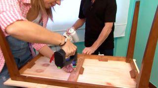Faire un plateau de table en bois - étape 5