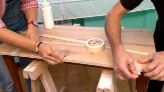 Faire un plateau de table en bois - étape 7