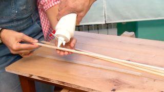 Faire un plateau de table en bois - étape 6