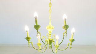 Peinture lustre de plafond (couleur vert citron)