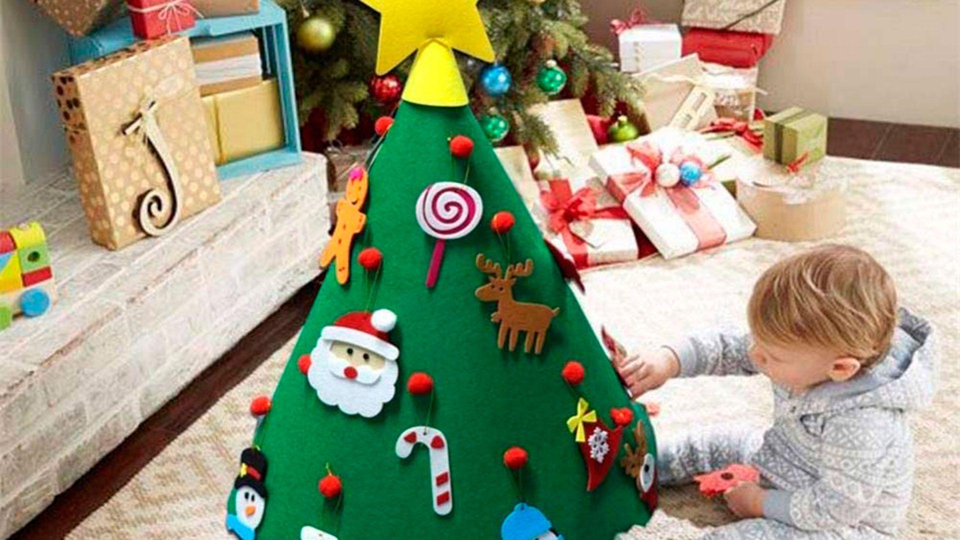 Sapin de Noël éducatif pour les enfants.