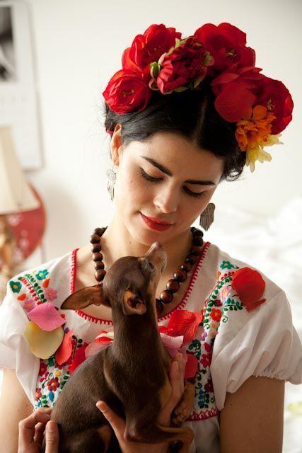 Comment faire un costume de Frida Kahlo