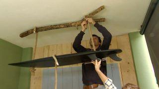 Comment fabriquer une lampe avec une planche de surf - Étape 8