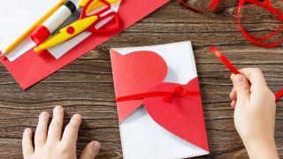 5 cartes de la Saint-Valentin pour les enfants étape 3