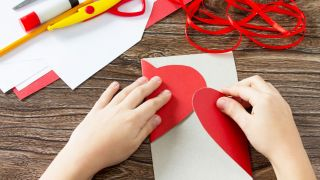 5 cartes de la Saint-Valentin pour les enfants étape 2