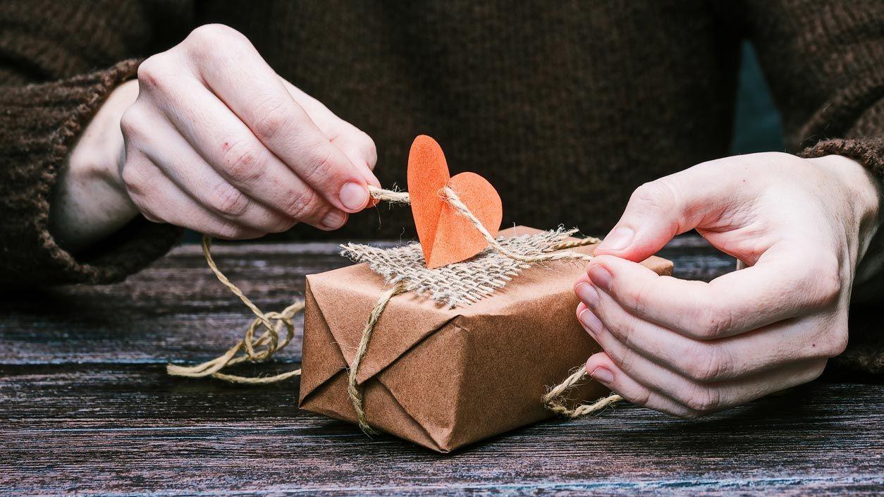 Cadeau de la Saint-Valentin avec détail 3D