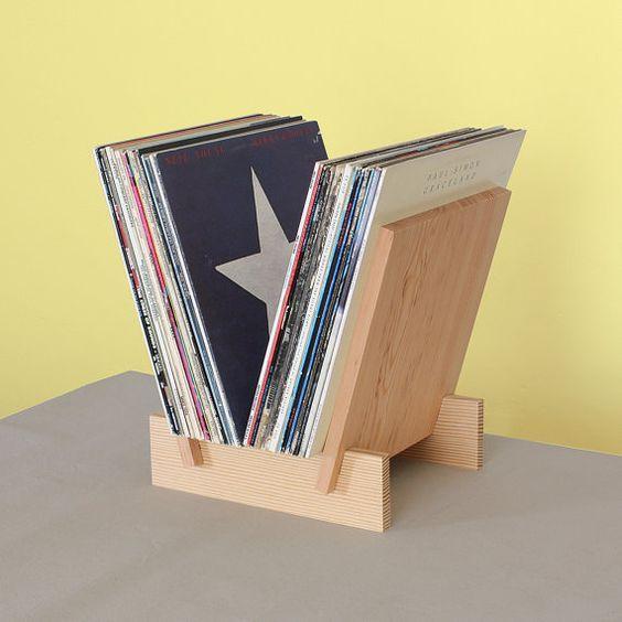 Porte-revues pour ranger les vinyles