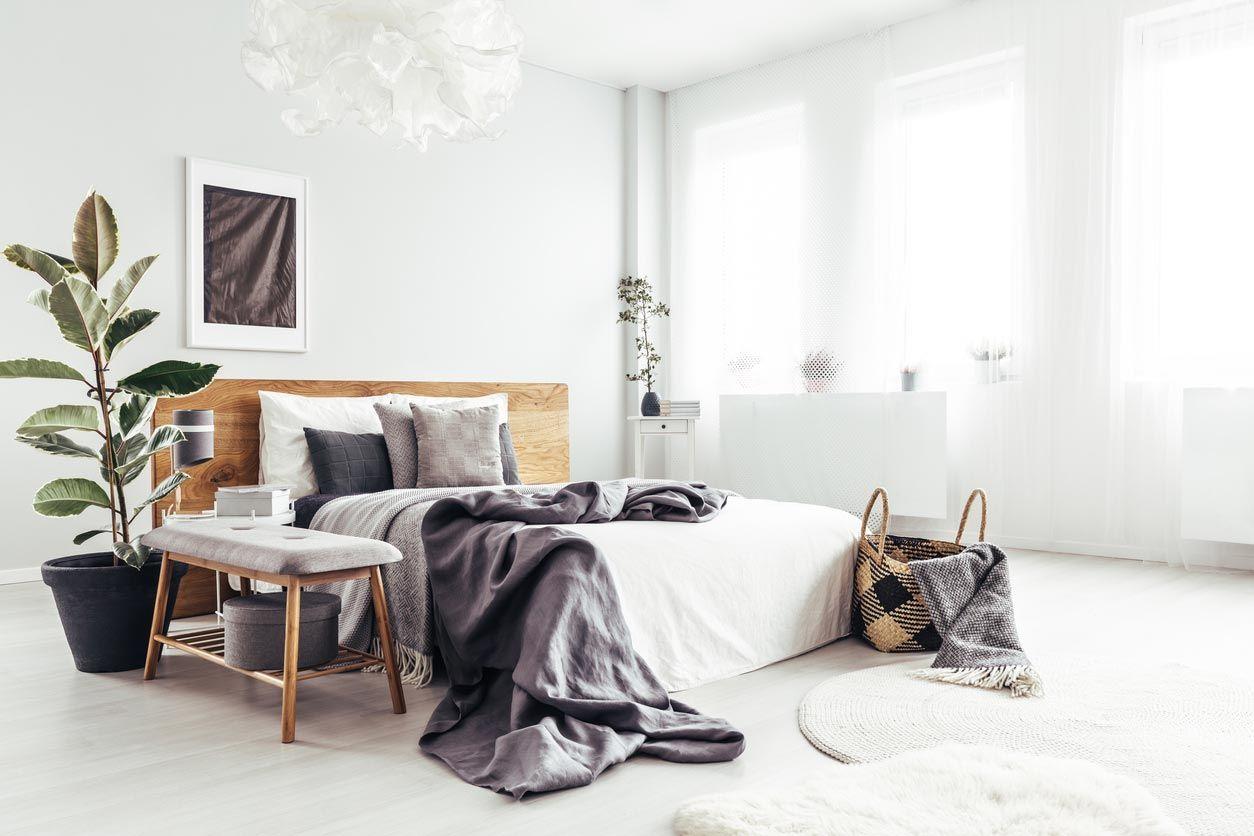 Un décor minimaliste est moins stressant