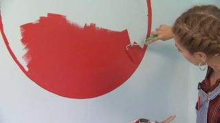 Chambre très lumineuse et détendue avec cercle rouge - Étape 5