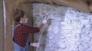 Nous transformons un loft vide en une chambre bohème et rurale - Étape 1