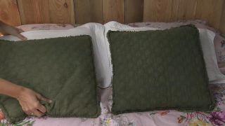 Nous transformons un loft vide en une chambre bohème et rurale - Étape 9