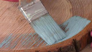 Comment faire une tête de lit avec des disques en bois - Étape 2