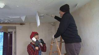 Rénovation de la chambre de la maison abandonnée - Étape 2