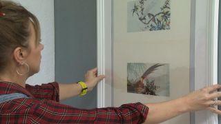 Chambre vintage lumineuse avec tapis peints - Étape 7