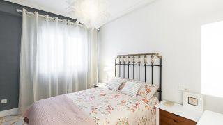 Chambre vintage avec tapis peints - Résultat final