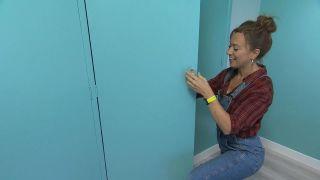 Décorez une grande chambre double en bleu à partir de zéro étape 10