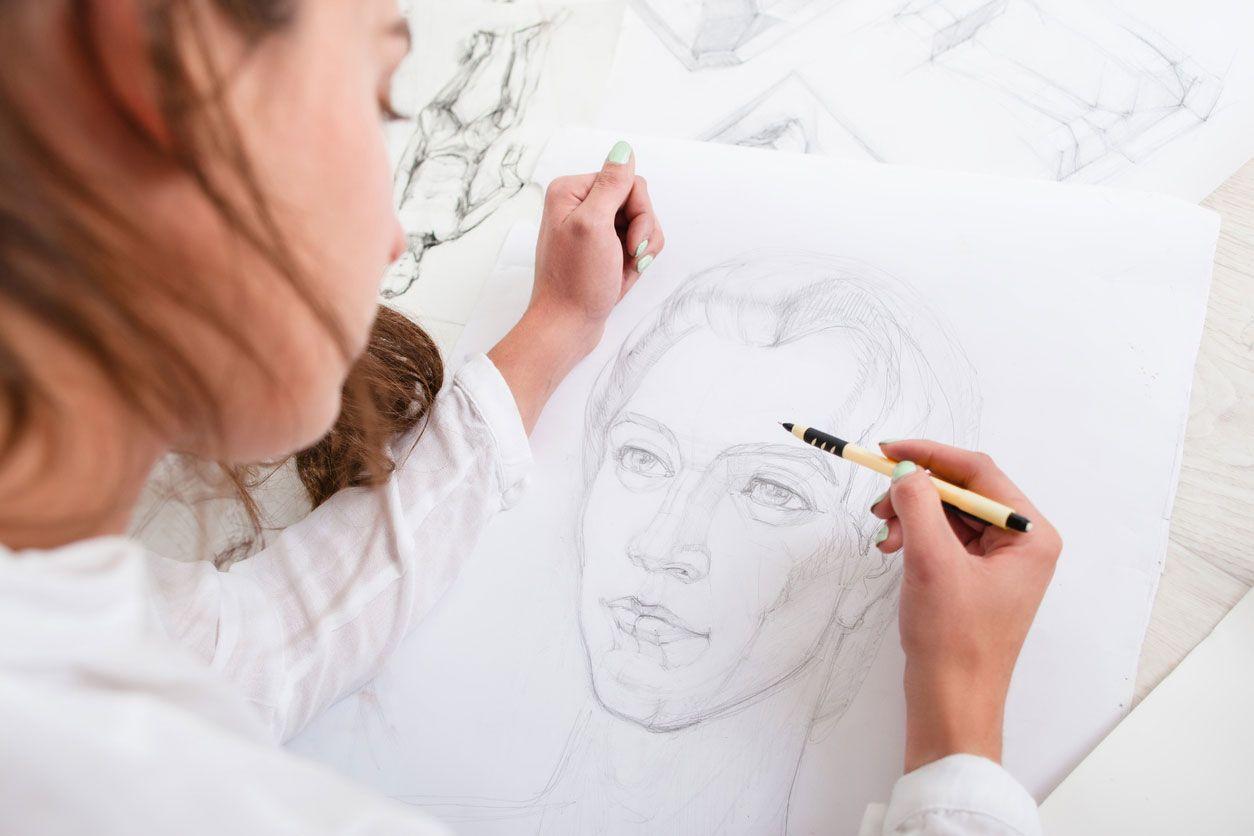 Trouvez votre propre style en dessinant.