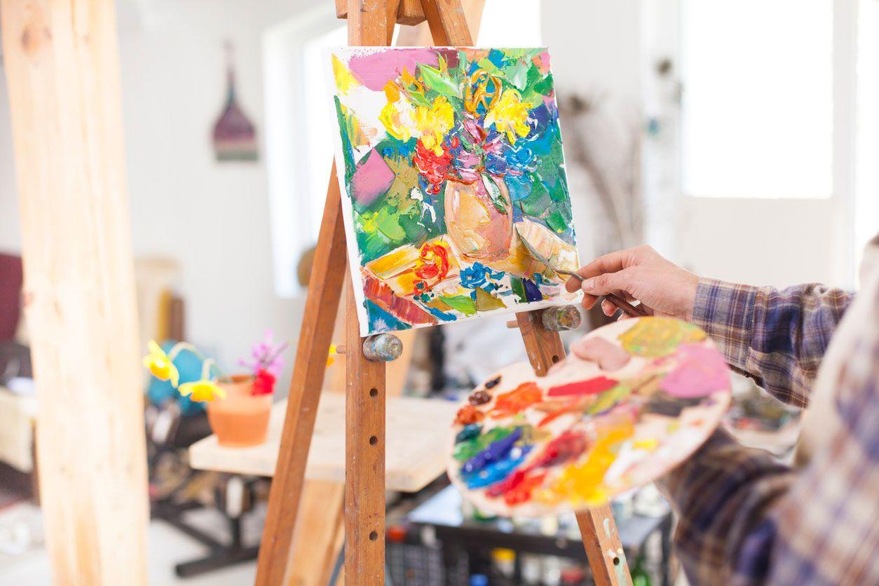 Avantages de la peinture et du dessin.