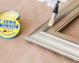 Cadre de peinture avec effet vieilli