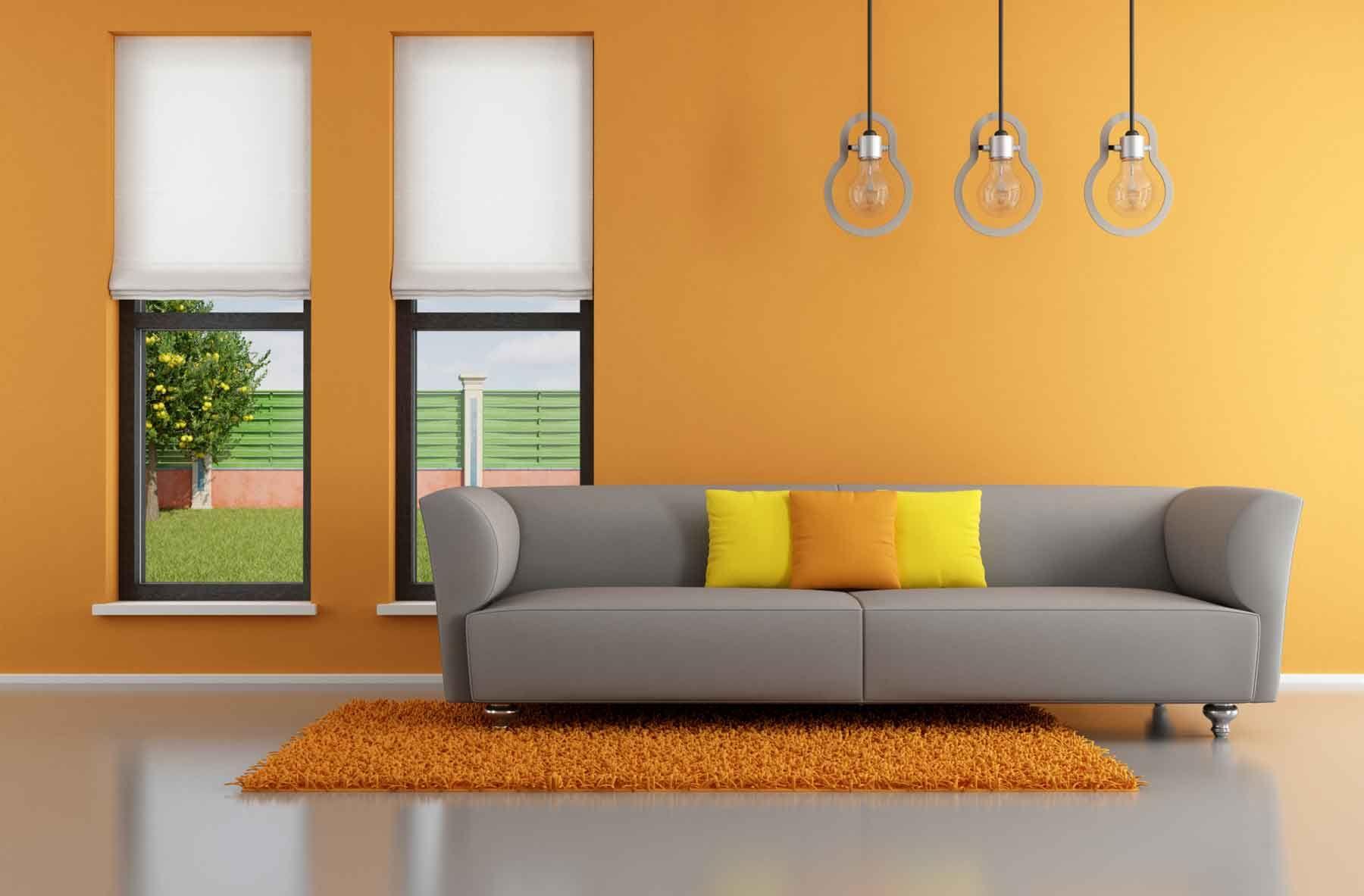Canapé gris pour le salon