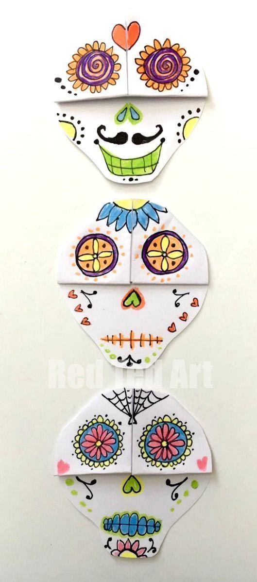 Signet d'angle crâne mexicain