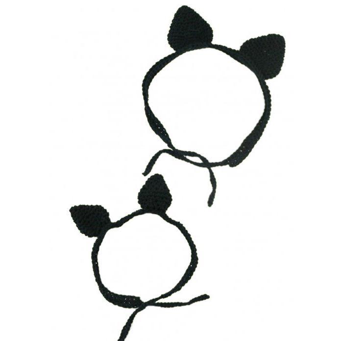 Comment crocheter un bandeau d'oreille de chat