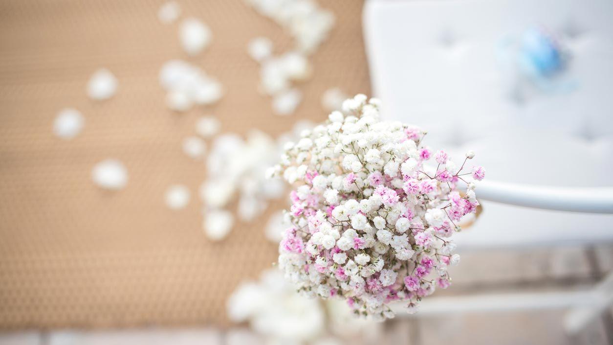 Décorations florales lors de mariages, baptêmes et communions