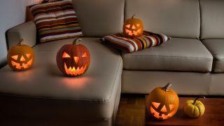 Utilisez des citrouilles pour décorer Halloween
