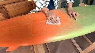 Comment fabriquer une lampe à partir d'une planche de surf - Étape 1